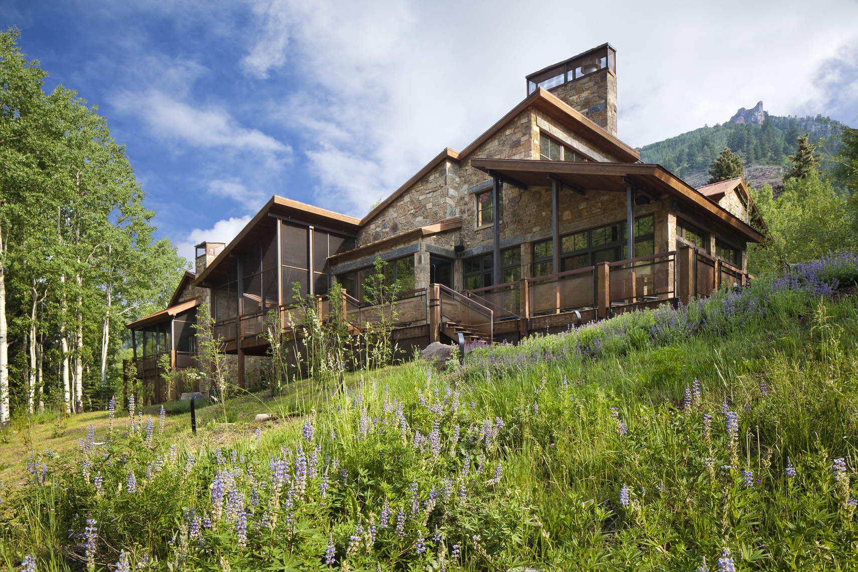Luxury residential photography, Telluride, Colorado