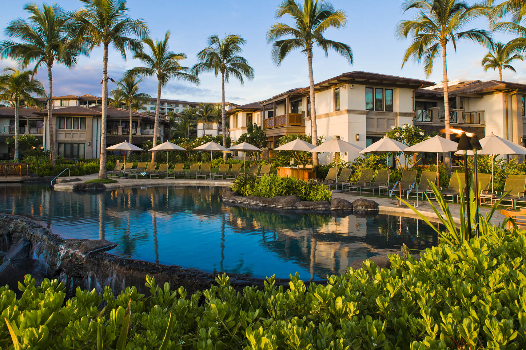 Maui resort, Hawaii